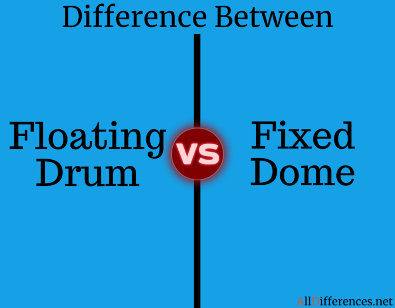 Comparison Between Fixed Dome and Floating Drum