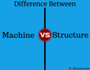 Comparison between Machine and Structure