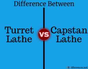 Comparison between Capstan and Turret Lathe