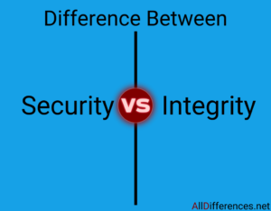 Comparison Between Security and Integrity