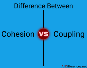 Difference between Cohesion and Coupling