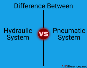 Comparison Between Hydraulic Systems and Pneumatic Systems with Tabular Form